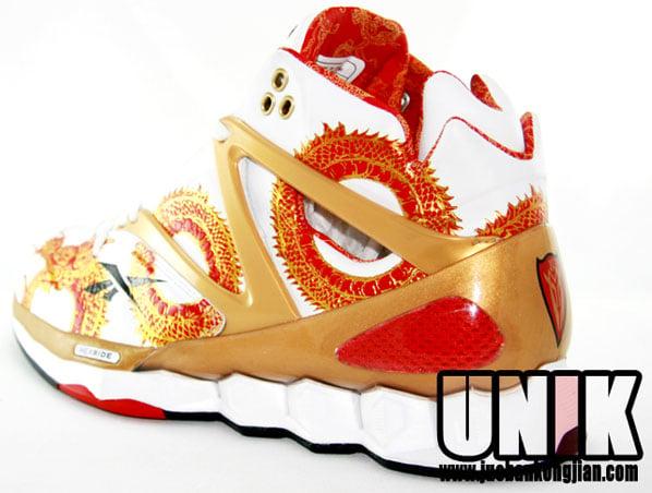 Reebok Hexride Yao Ming Olympic Detailed Look