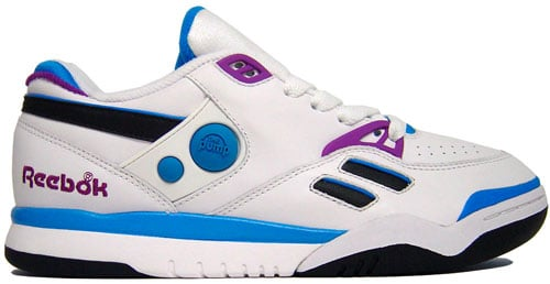 reebok pump court victory dual low white blue purchaze. Black Bedroom Furniture Sets. Home Design Ideas
