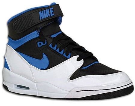 nike shoes high tops white. like regular hi-top shoes,
