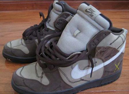 Sample Nike Dunk High SB - Hay