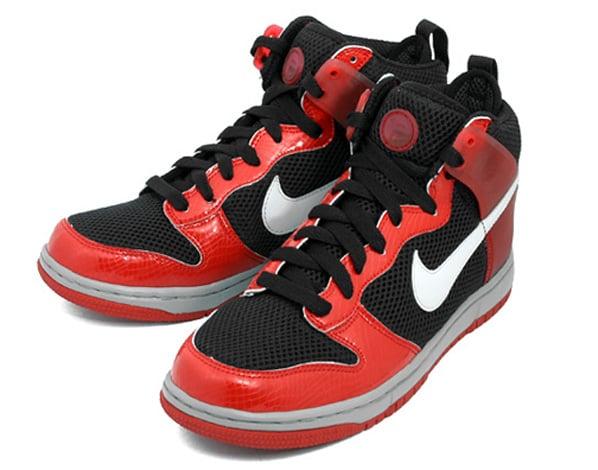 Nike Air Zoom Dunkesto High Red Python