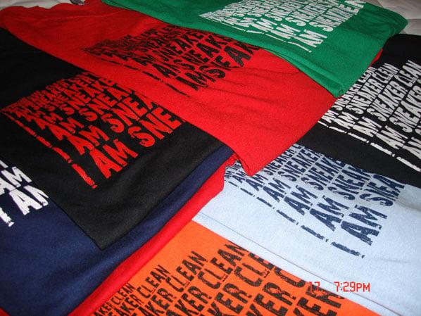 Shoe Shine: I Am Sneaker Clean T-Shirts