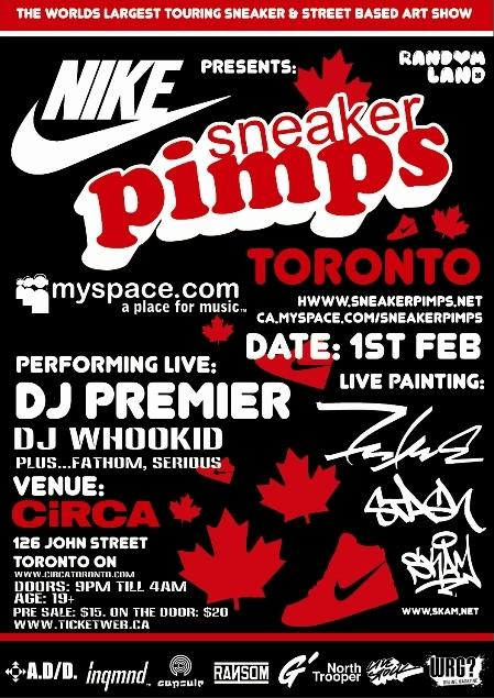 Sneaker Pimps Toronto February 1 2008
