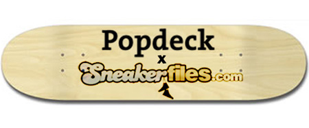 Sneaker Files x Popdeck Skateboard Design Contest