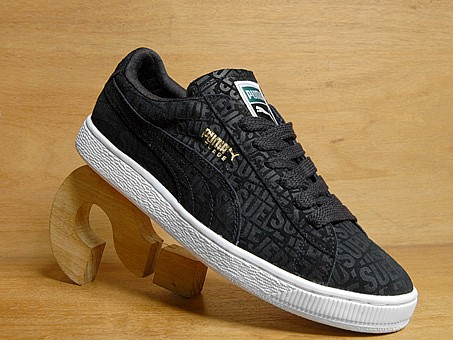 Puma Suede Repeat - Blue and Black