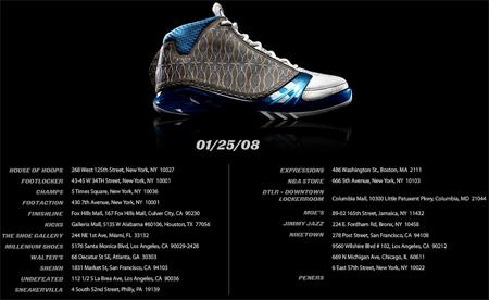 Top 23 Stores Getting the Air Jordan XX3