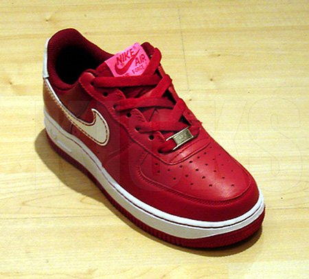 Nike Womens Valentines Day 2008 Air Force 1 Sneakerfiles