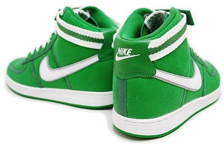 Nike Vandal Hi Green Canvas | SneakerFiles