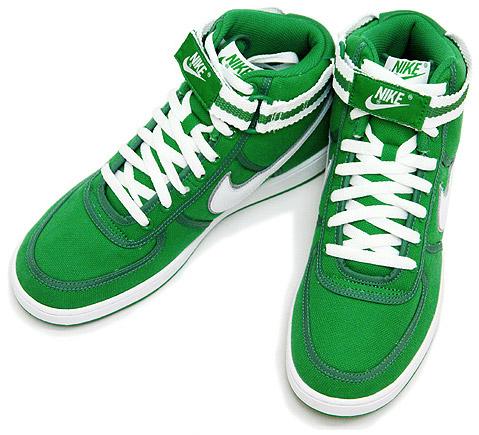 Nike Vandal Hi Green Canvas