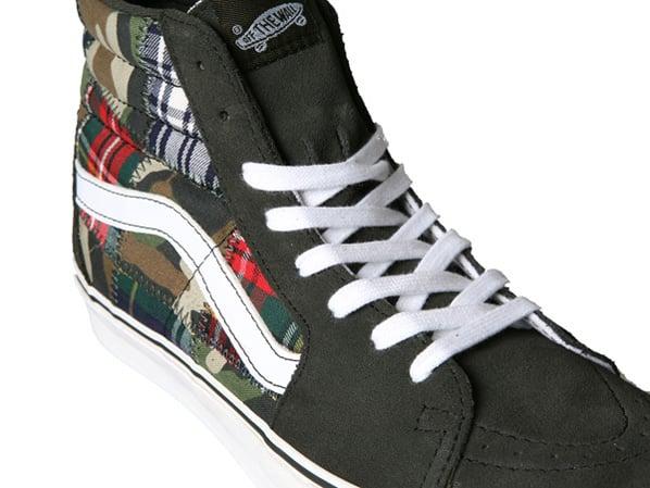 Vans Sk8 Hi And Slip On Patchwork Camo Sneakerfiles