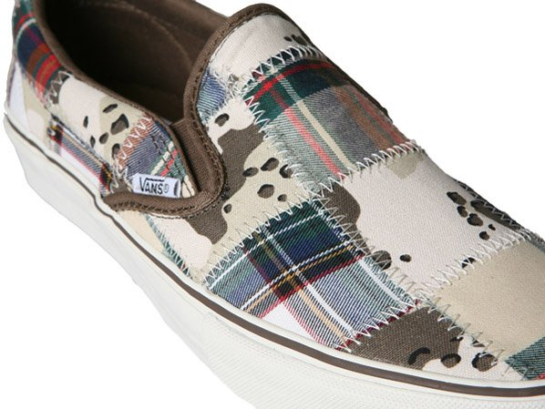 Vans SK8-Hi and Slip On Patchwork Camo