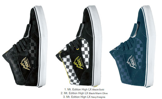 Vans Vault Spring '08 Collection - Color Theory
