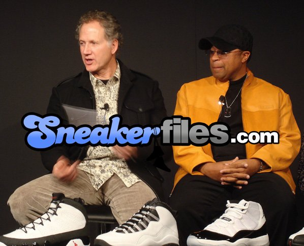 Tinker Hatfield and Gentry Humphrey from Nike Air Jordan Brand