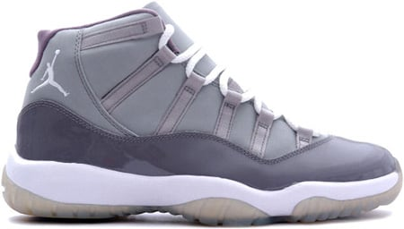 Air Jordan 11 (XI) Retro Medium Grey/White-Cool Grey