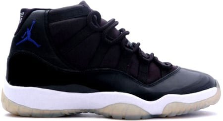 Air Jordan 11 (XI) Retro Space Jam Black/Varsity Royal-White
