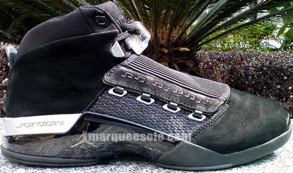 Air Jordan XVII (17) Black/Silver Countdown Pack