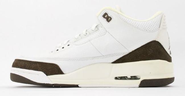 Air Jordan 3 Retro Hvit / Mørk Mocha gakBjc1FUC