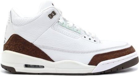 Air Jordan 3 (III) Retro White/Mocha