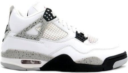 1999 Air Jordans 4 Noir