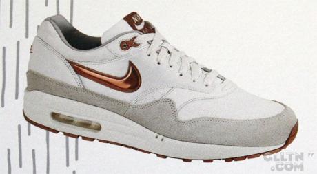 Fall 2008 Nike Air Max 1 - Gold/Silver/Bronze