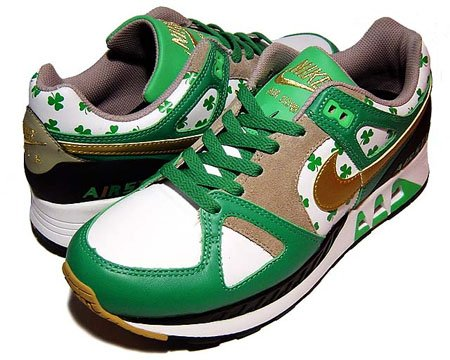 best service 41db3 02a18 Nike Womens Air Stab - St. Patricks Day