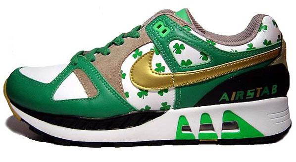 best service 5a051 6d88f Nike Womens Air Stab - St. Patricks Day
