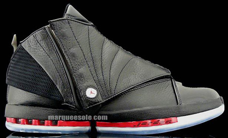 42dd49ca8362 Air Jordan XVI (16) Black   Varsity Red Countdown Pack