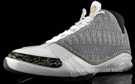 low priced 458b1 3a8a3 Air Jordan XX3 (23) White   Stealth   Black Detailed Look