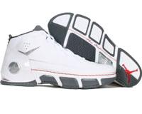 Air Jordan CP Chris Paul White/Silver/Varsity Red
