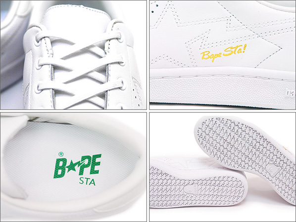 New A Bathing Ape Bapesta Squash