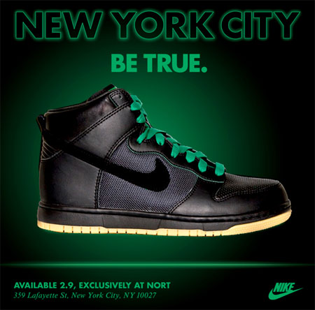 Nike Dunk - Be True City Pack - New York