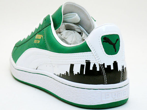 Puma Basket 1970s Champs Boston Celtics