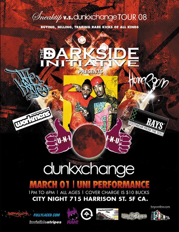 Dunkxchange San Francisco March 1st
