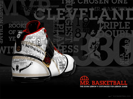 969e62fd3c3 Nike Zoom Lebron 5 (V) - Mr. Basketball Release Update