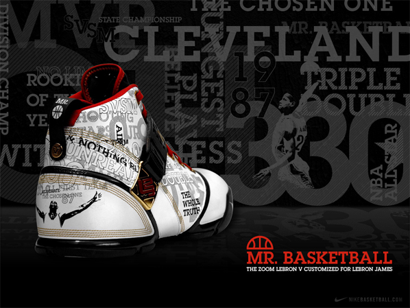 2eaca6767eea9 80%OFF Nike Zoom Lebron 5 V Mr Basketball Release Update ...