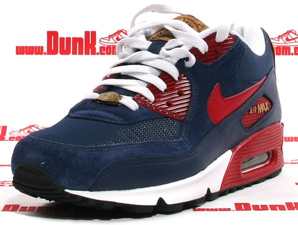 Nike Air Max 90 SI - Navy/Varsity Red/Metallic Gold
