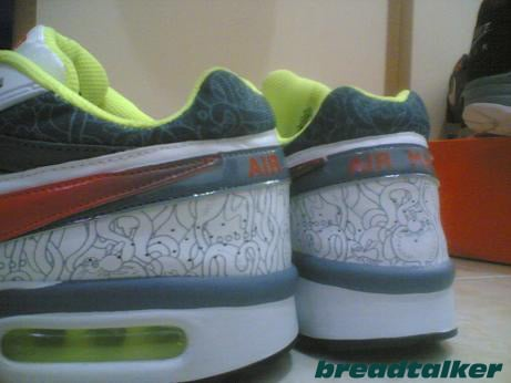 Nike Air Max BW - Neon/Orange/Grey