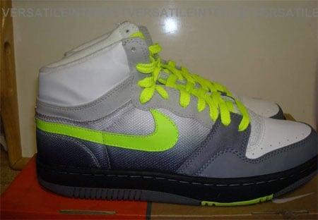 Nike Court Force High Sample - Neon Air Max 95