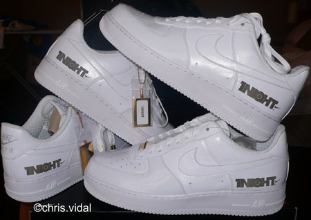 Nike Air Force 1 Supreme 1Night