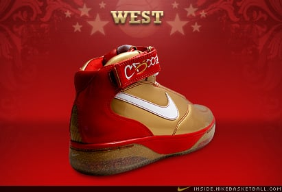 Nike Air Force 25 All Star West Carlos Boozer