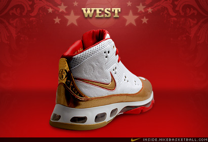 2008年NBA全明星战靴