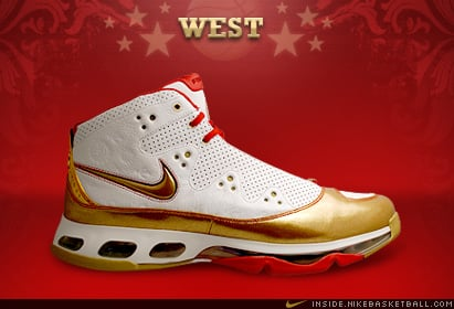 new styles 11ec8 5f38e Nike Air Max STAT 360 2008 All Star West Amare Stoudemire