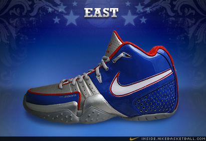 2008年NBA全明星战靴 好多鞋看啊