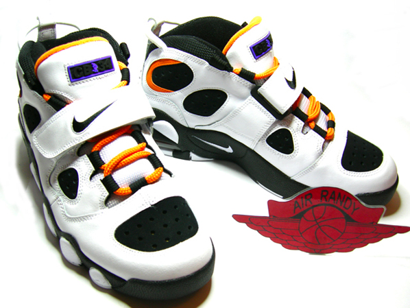 Nike Retro CB34 Charles Barkley White/Black - Carrot
