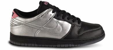 Nike Dunk Low 6.0 Black / Metal Silver Journeys Exclusive