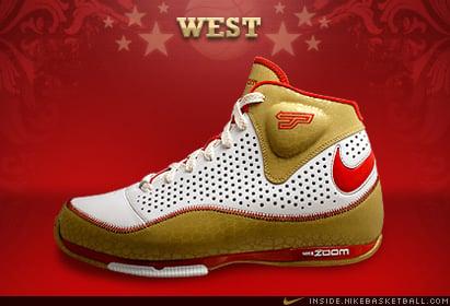 Nike Zoom BB II (2) 2008 All Star West: Tony Parker