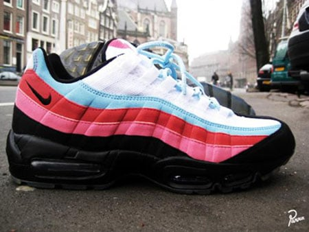 nike air max 95 the running man pack by parra