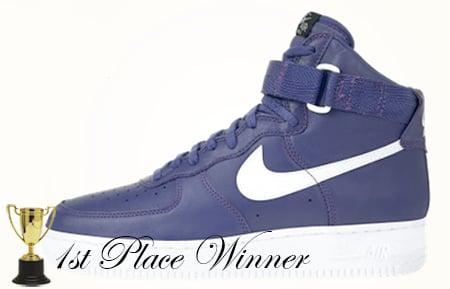 Purple Nike Air Force 1 High 1993
