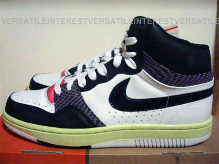 Nike Court Force Low and High Samples