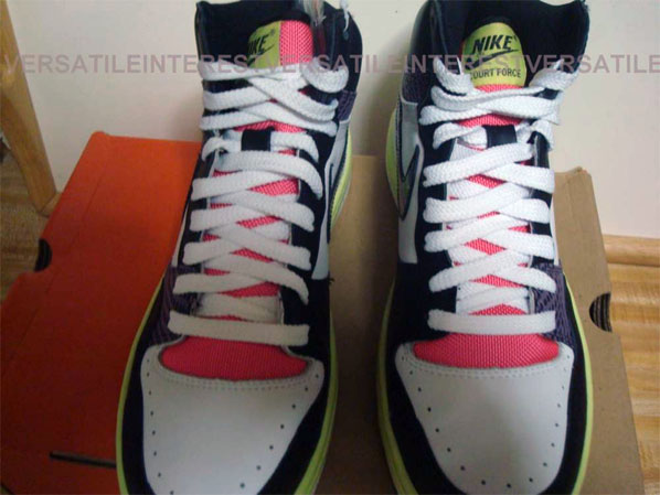 Nike Court Force Low and High 2008 Samples